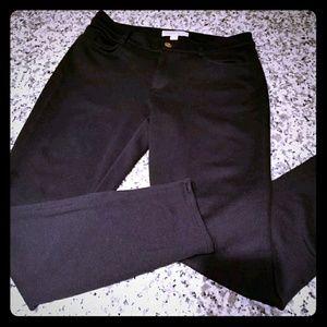 Michael Kohrs black dress pants skinny 6
